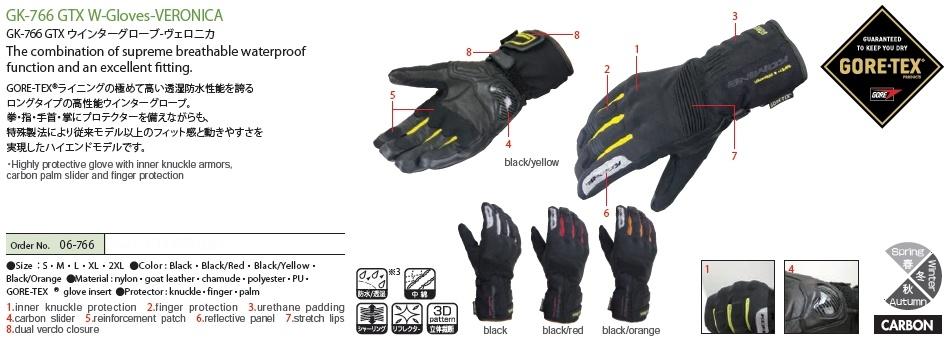 【KOMINE】GK-766 GTX 冬季手套 Veronica - 「Webike-摩托百貨」
