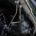 【M-SOUL】武蔵改 SPEC-R用排氣管支架