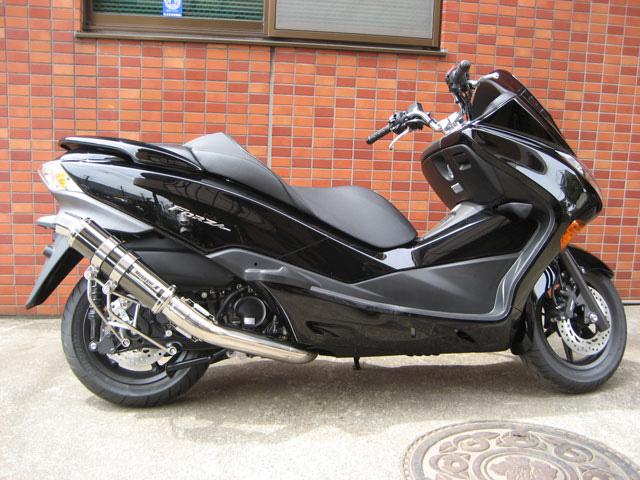 【M-SOUL】SPEC-R金屬黑全段排氣管 - 「Webike-摩托百貨」