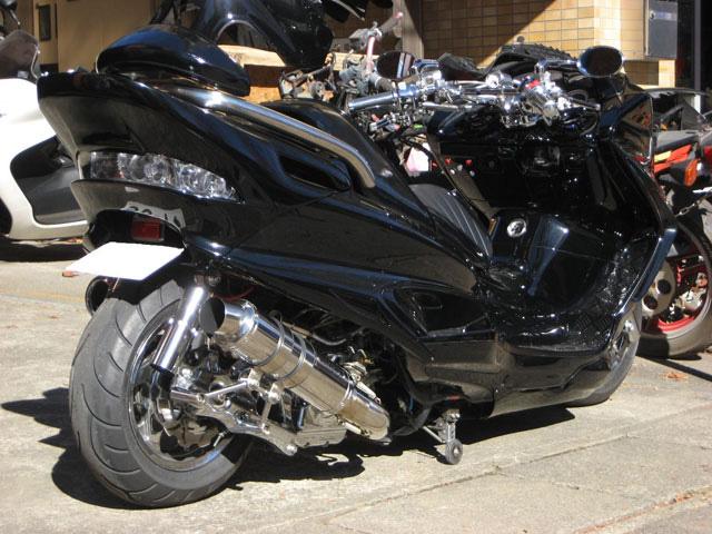 SPEC-R金屬黑全段排氣管