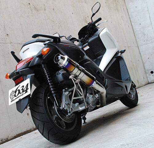 【M-SOUL】SPEC-R 不銹鋼全段排氣管(短) - 「Webike-摩托百貨」