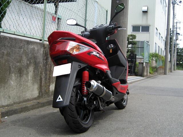 【M-SOUL】SPEC-R 金屬黑排氣管尾段 - 「Webike-摩托百貨」