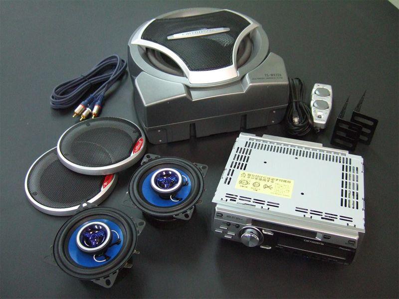 Pioneer Carrozzeria音響系統和低音系統組2SP