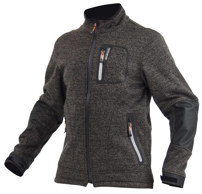 JK-554  保暖羊毛外套3層式