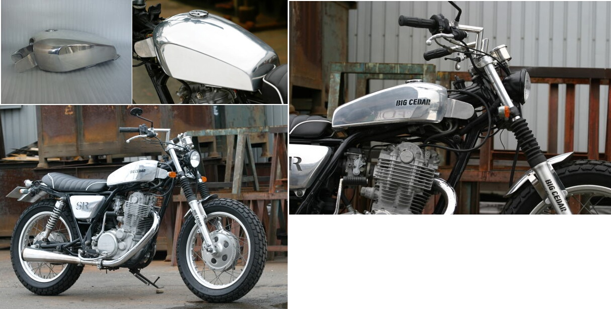 Flat Side 鋁合金油箱