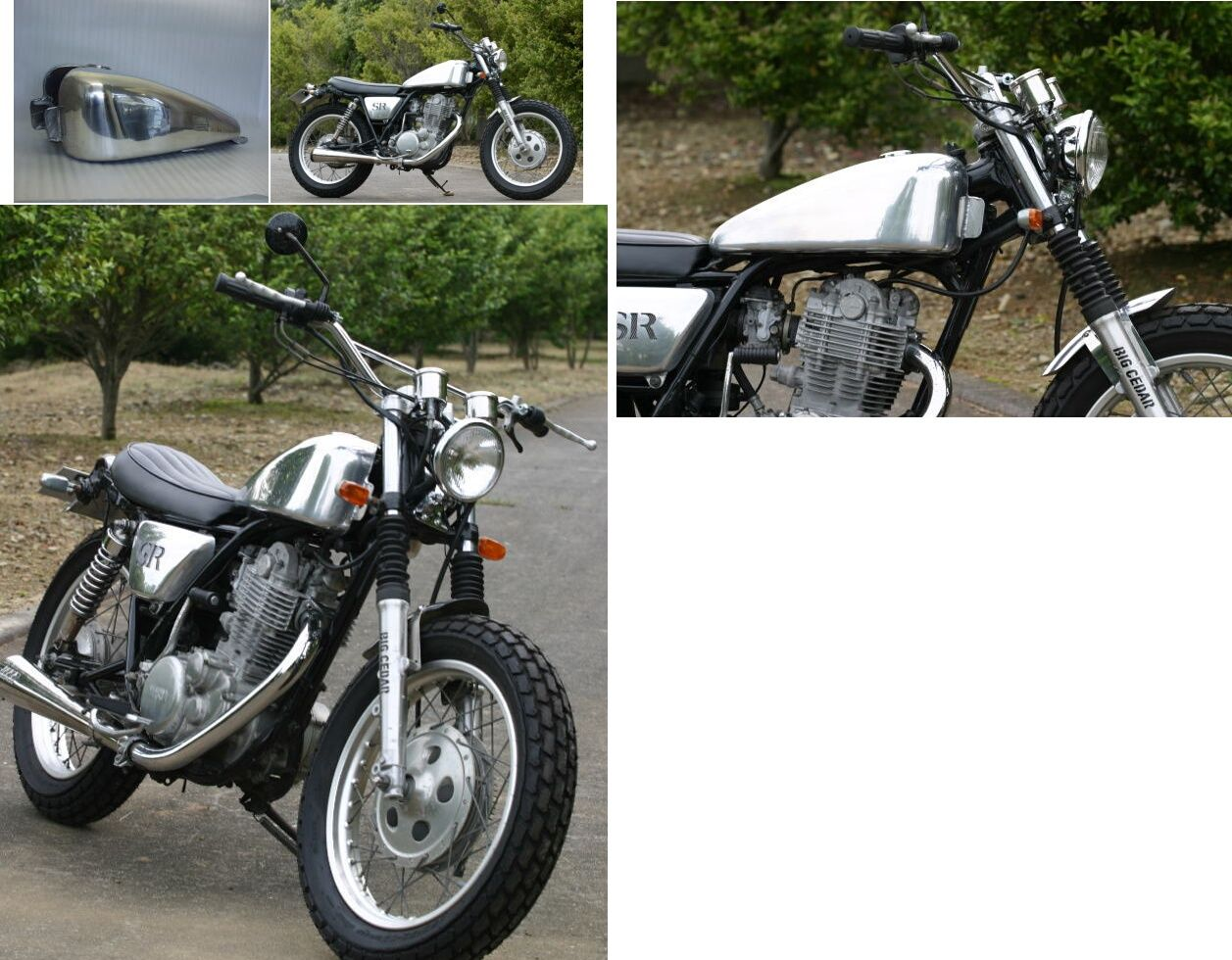 Stretch Sportster 鋁合金油箱