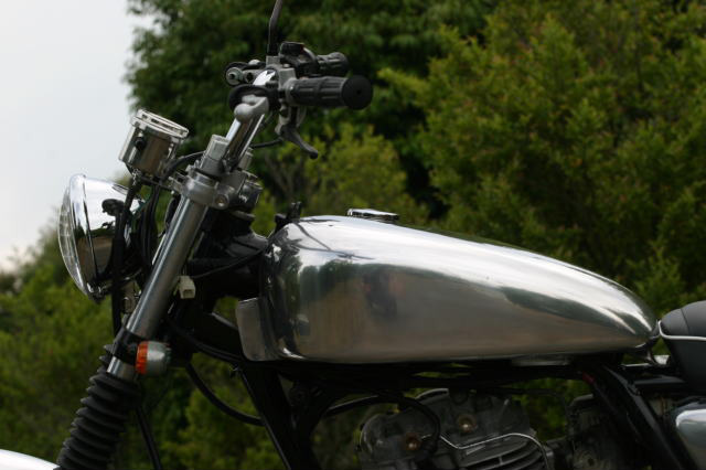 【BIG CEDAR】Omar 鋁合金油箱 - 「Webike-摩托百貨」