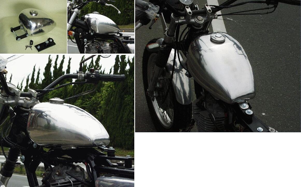 【BIG CEDAR】Peanut 鋁合金油箱 - 「Webike-摩托百貨」