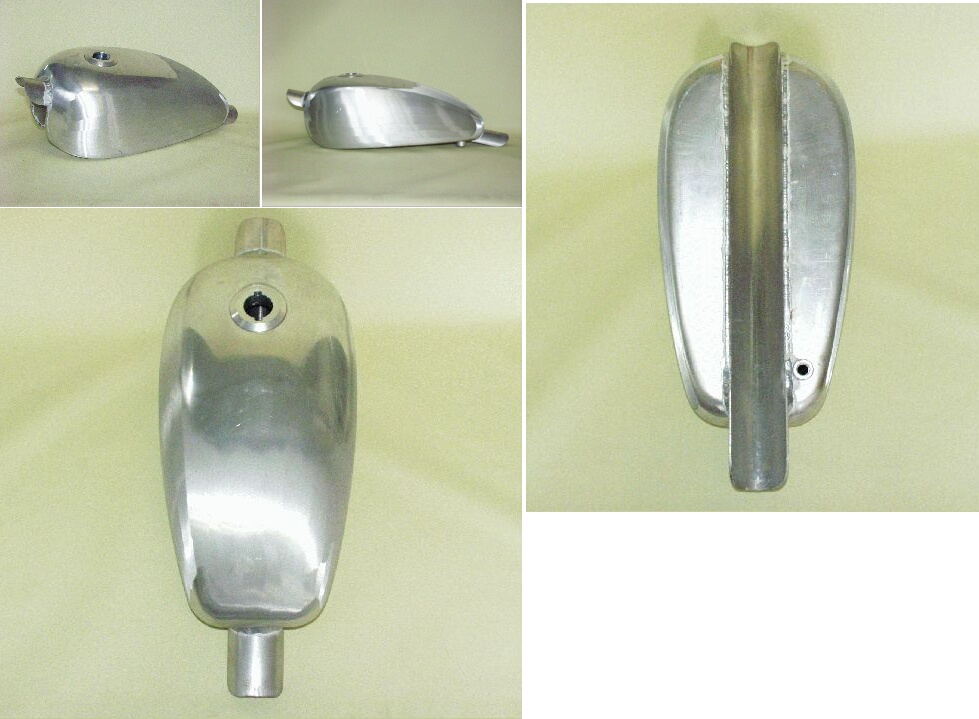Almond 鋁合金油箱