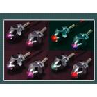 ブラストマニア/LED ライセンスプレートスクリューランプ(レインボーカラー・2個1セット)