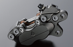 Billet 220mm 碟盤用 有箭頭標誌 煞車卡鉗 4pods