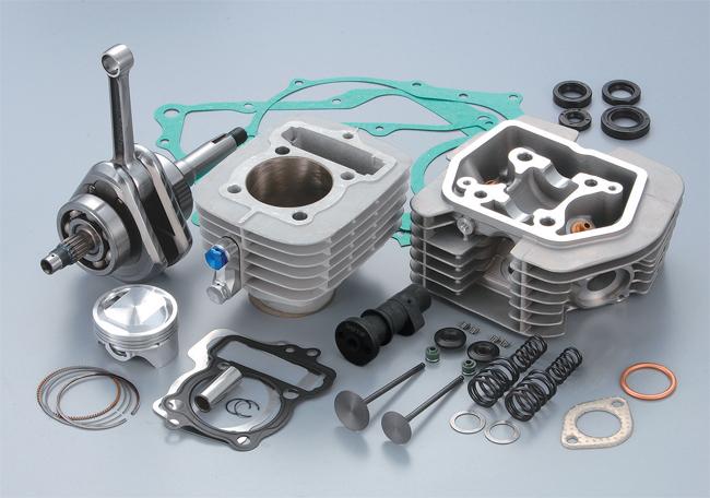 125cc SPARTAN 加大缸徑/行程套件
