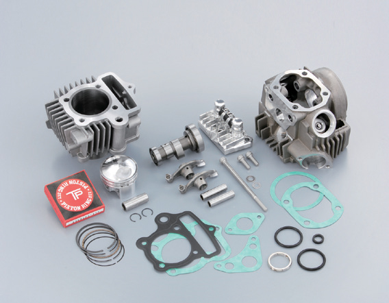 Monkey 88cc High Revolution 加大缸徑套件(附 High range 凸輪軸及 Billet R 蓋) 6V用