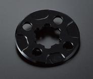 鋁合金前齒盤固定板