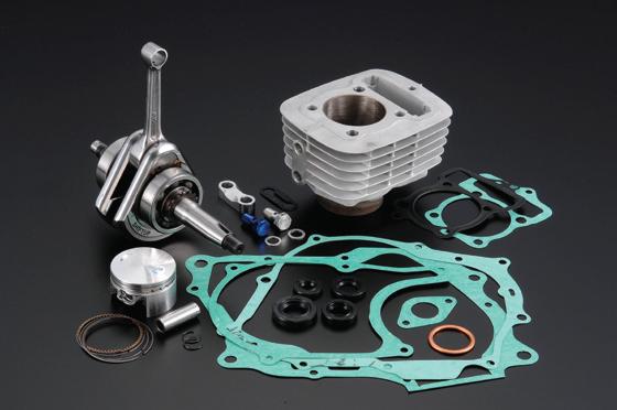 100cc→125cc 加大缸徑/行程套件