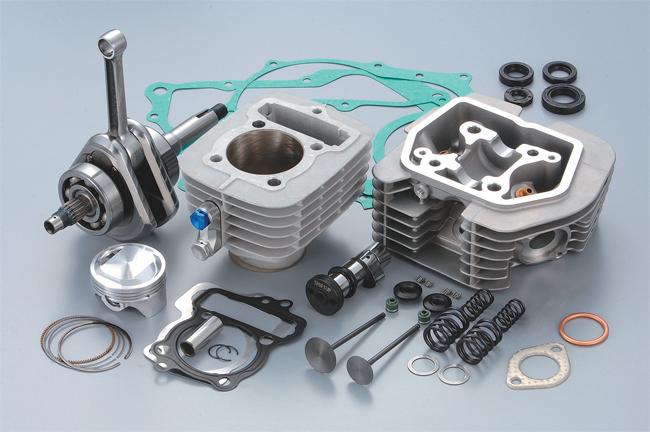 耐久運轉型加大缸徑/行程套件 ER-2 125cc TYPE 2