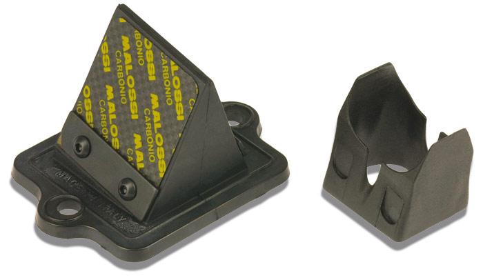 【MALOSSI】碳纖維舌簧閥本體 45° - 「Webike-摩托百貨」