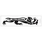 【MALOSSI】黑色・Lion24cm 右側 貼紙
