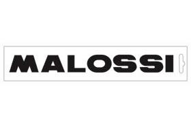 黑色・Malossi logo24cm 貼紙