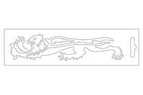 白色・Lion16.6cm左側 貼紙