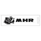 【MALOSSI】黑色・MHR Logo 16.6cm 貼紙