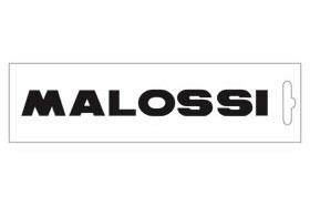 黑色・Malossi logo16.6cm 貼紙