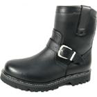 NAVY・S:オールドネイビー/NB-01 Riding Boots レザーブーツ