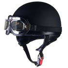 LEAD CROSS (Black s) CR - 751 Vintage halfHelmet