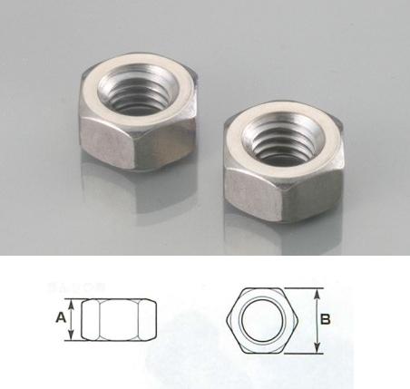 六角螺帽 /2種(不鏽鋼)