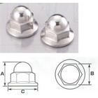 【K-CON】不鏽鋼墊圈頭螺帽 (無鋸齒) (有蓋)