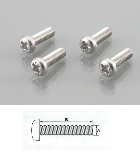 【K-CON】方向燈殼和尾燈殼用螺絲 - 「Webike-摩托百貨」