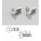 【K-CON】內六角平頭螺絲 (SUS不鏽鋼) 5×12/2PC