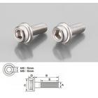 【K-CON】內六角墊圈頭螺絲 (SUS不銹鋼) 6×15/2P