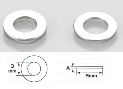 Needle 墊片組 3×6×0.3/0.6