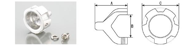 消音器隔板(鋁合金)