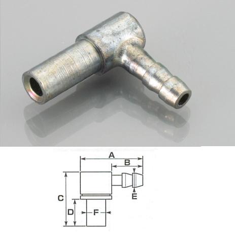 機油 油管接頭 (L型)