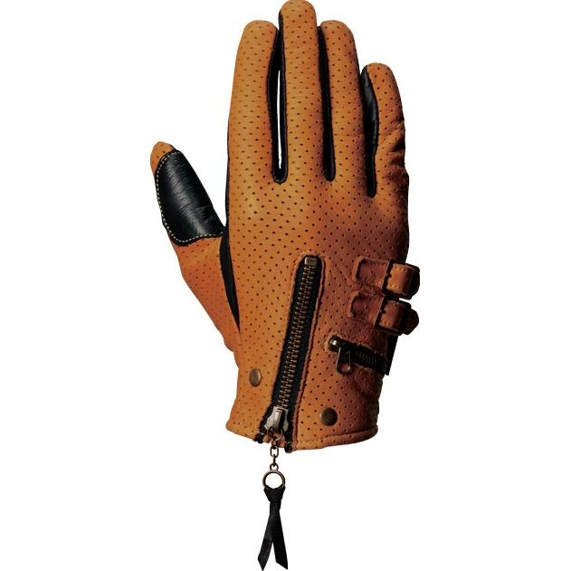 男用打孔皮革手套