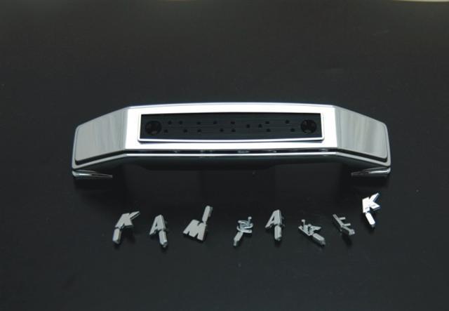 前叉飾蓋銘版 『KAWASAKI』
