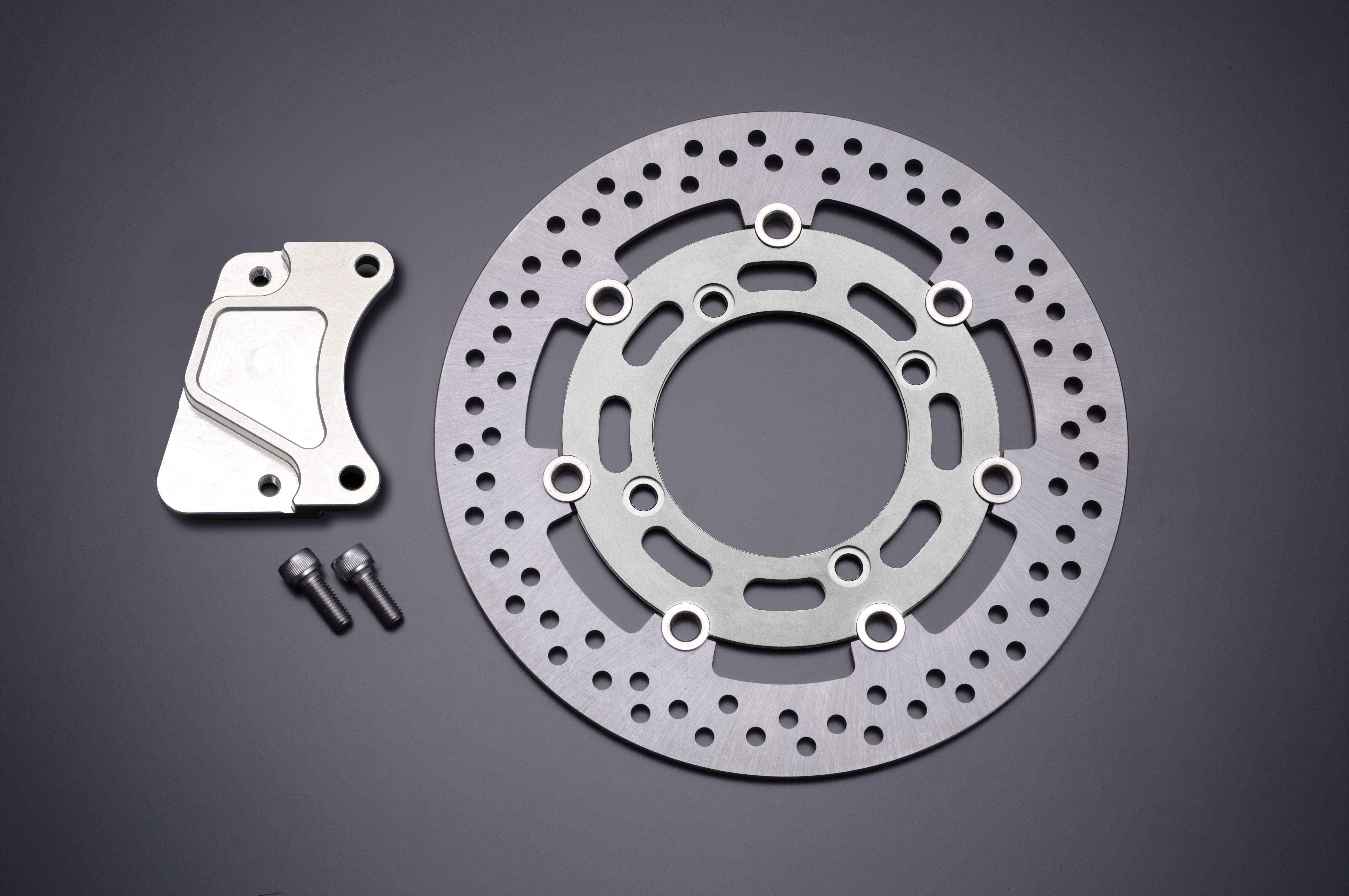 Φ285 煞車碟盤套件 Brembo用 (銀色) (40mm Pitch)