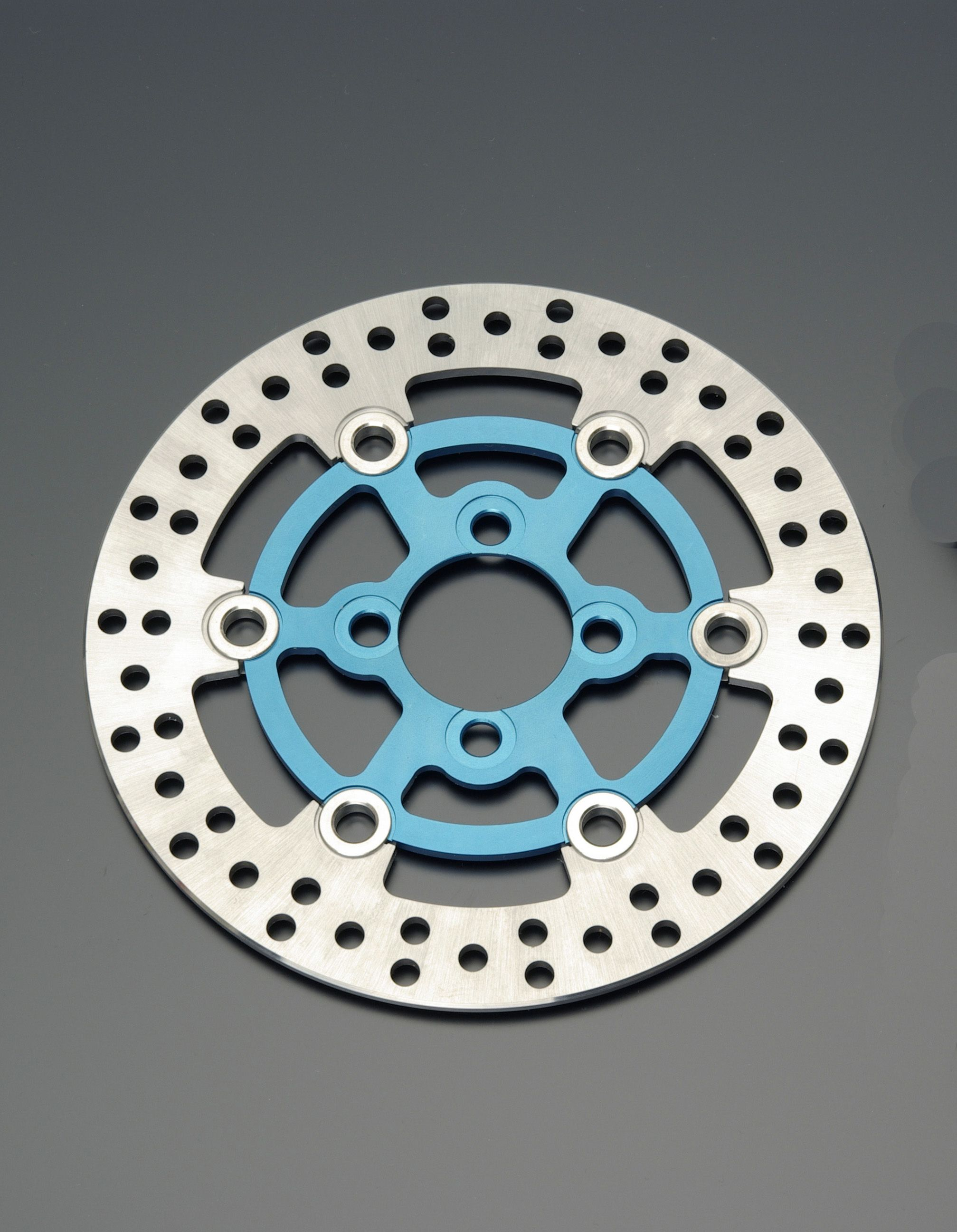 套件専用 前煞車碟盤 (藍色)