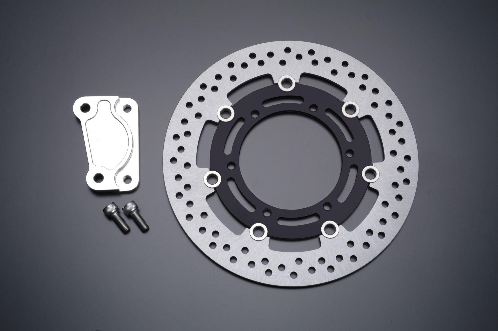 Φ285 煞車碟盤套件 Brembo用 (黑色) (40mmPitch)