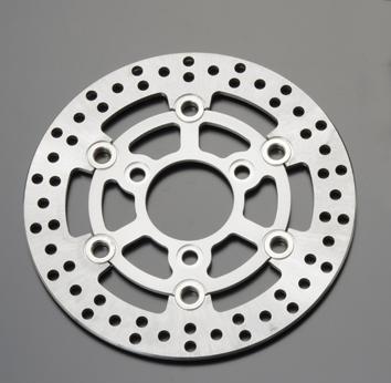 套件専用 前煞車碟盤 (銀色)