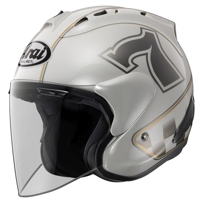 Arai:アライ SZ-RAM4 CAFE RACER[カフェレーサー] ヘルメット(カラー ...