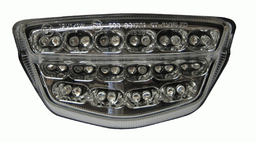 LED 透明尾燈