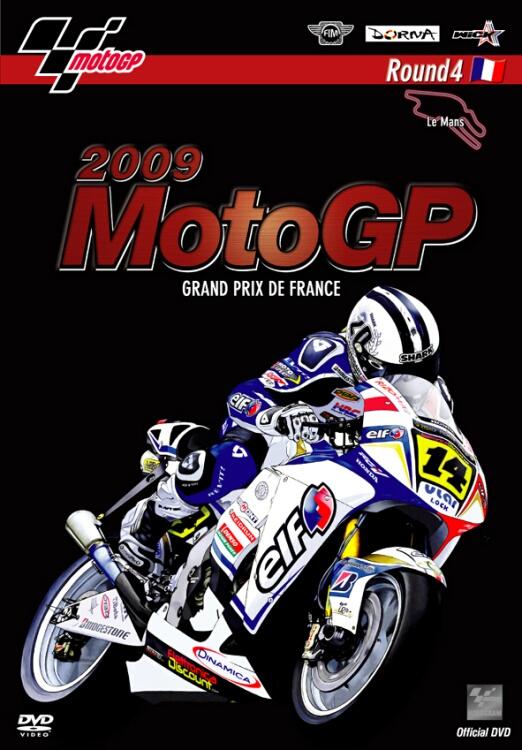 2009MotoGP 公式DVD Round4 France(法國)GP