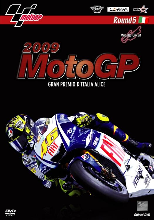 2009MotoGP 公式DVD Round5 Italy(義大利)GP