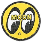 【MOON EYES】YELLOW EYEBALL 徽章