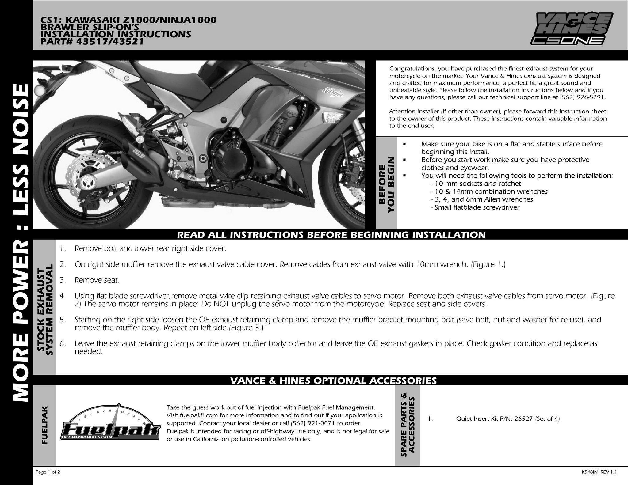 【VANCE&HINES】URBAN BRAWLER 排氣管尾段(黑色) - 「Webike-摩托百貨」