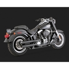 "【VANCE&HINES】黑色排氣管尾段 (TWIN SLASH 3"" SLIP-ONS BLACK)"