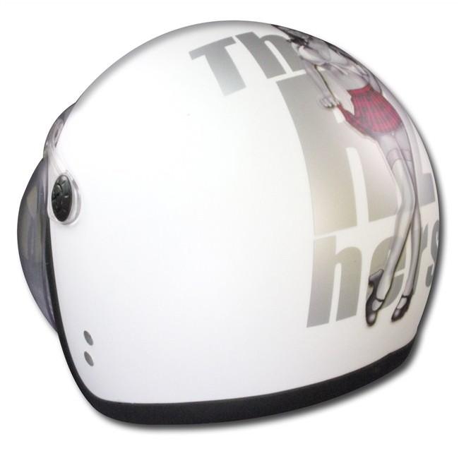 【RIDEZ】JB MOODY DOLL JET安全帽 - 「Webike-摩托百貨」